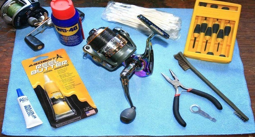 How to clean Fishing Reels