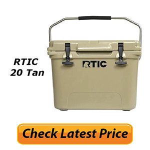 RTIC 20 Tan Review