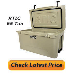 RTIC Cooler 65 Tan Review